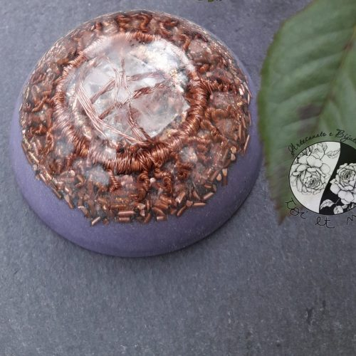 Mini Orgonite Lilás